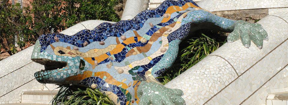 El drac és un dels símbols emblemàtics del Parc Güell