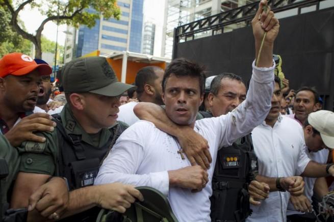 Leopoldo lopez detenido