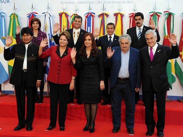 Líders de l'UNASUR. Foto: peru.com