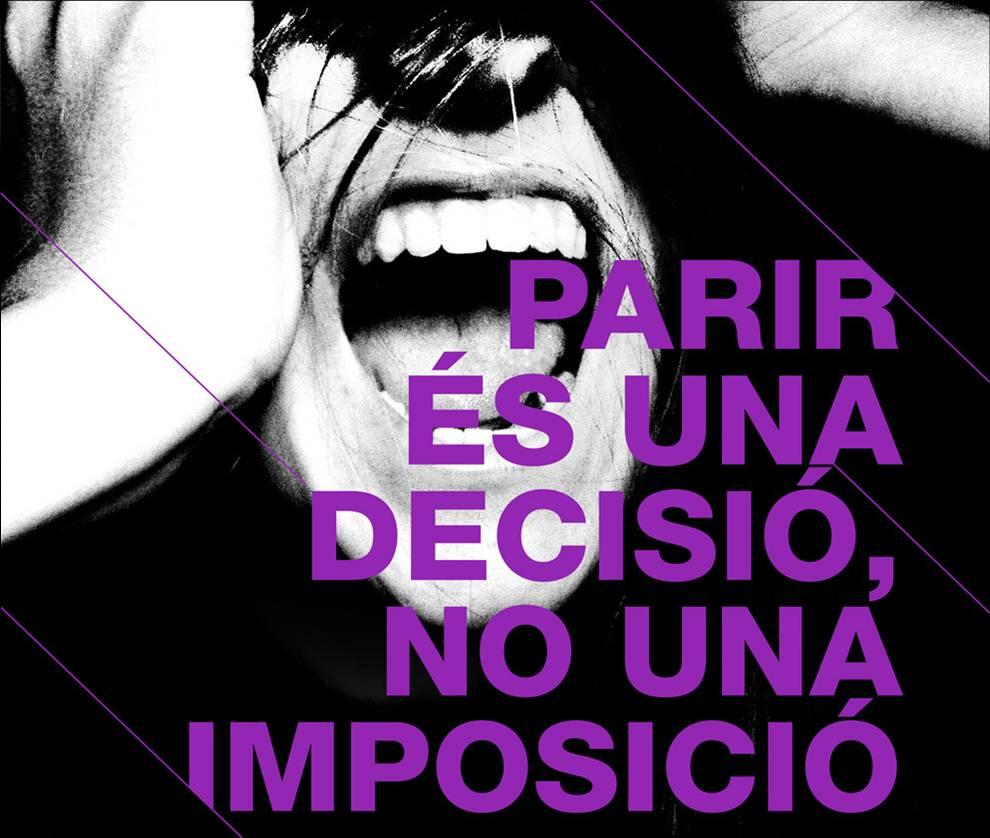 Cartell esquerra independentista per la manifestació del 28 de setembre. Endavant OSAN a Racó Català http://www.racocatala.cat/forums/fil/165538/parir-decisio-no-imposicio-pel-dret-lavortament-lliure-gratuit