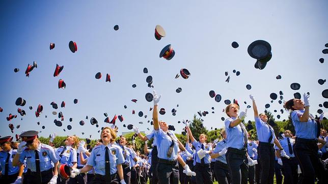 03b Acto de graduación de una de las últimas promociones de Mossos