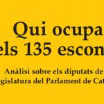 Qui ocupa els 135 escons? X Legislatura
