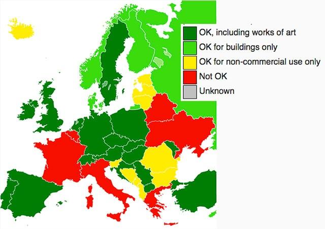 mapa europa llei panorama