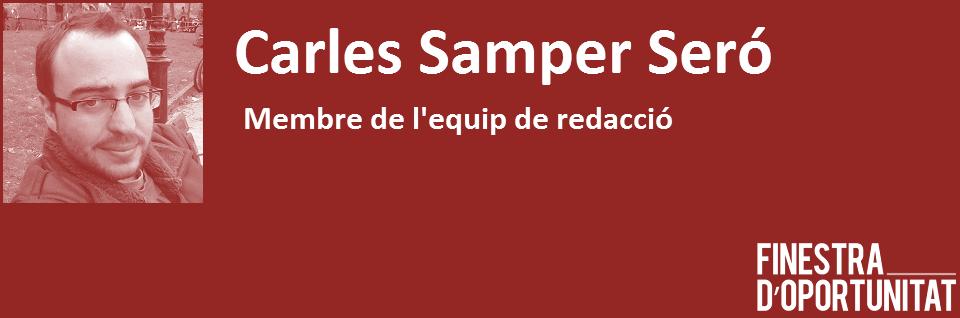 Banner Carles Samper