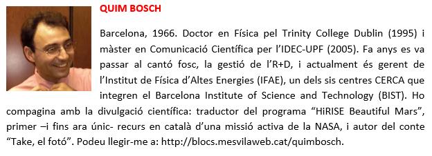 Quim Bosch - bio