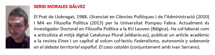 Sergi Morales - biografia