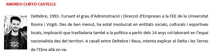 Andreu Curto - biografia