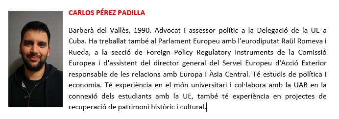 Carlos Perez Padilla - biografia